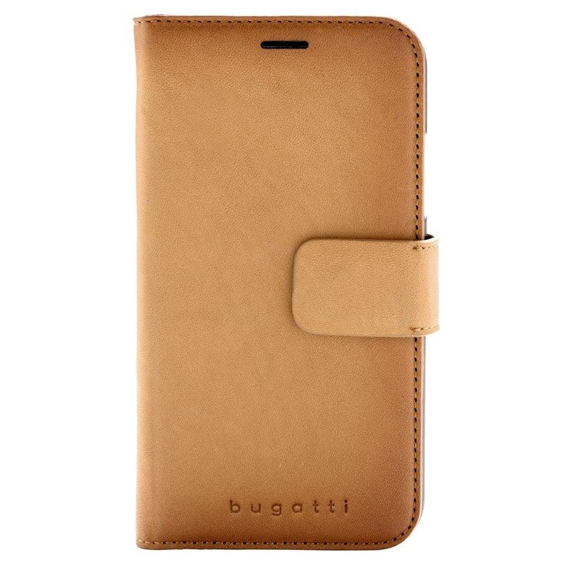 Bugatti Zurigo Lederen iPhone XR Wallet Cognac bruin 01