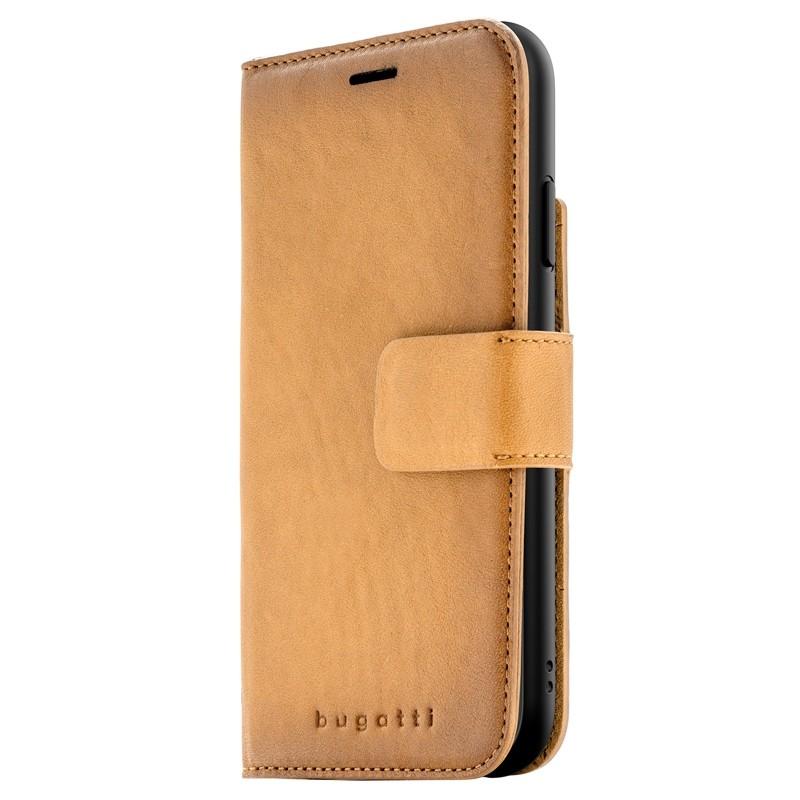Bugatti Zurigo Lederen iPhone XR Wallet Cognac bruin 04