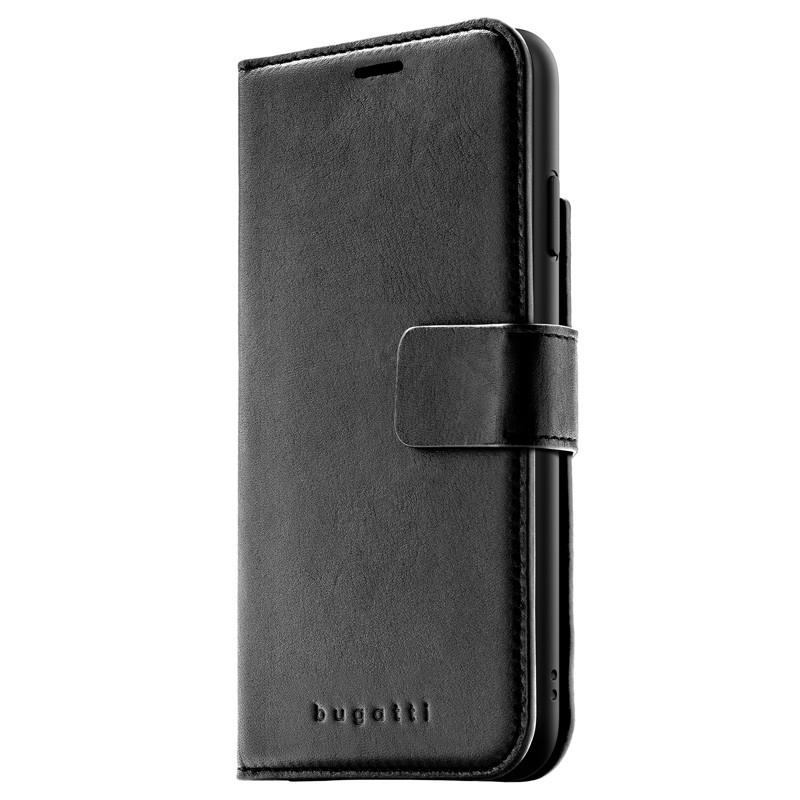 Bugatti Zurigo Lederen iPhone XS Max Wallet hoes zwart 04