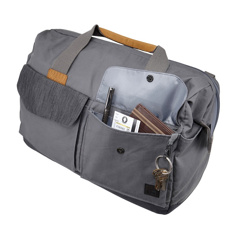 Case Logic LoDo Satchel 15 inch Petrol Green - 6
