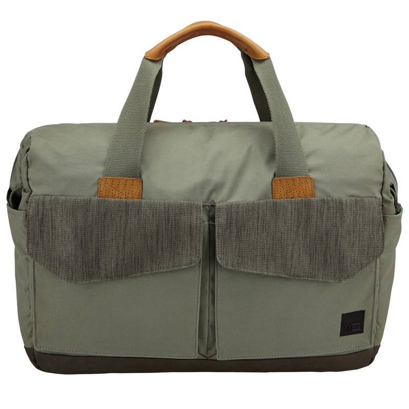 Case Logic LoDo Satchel 15 inch Petrol Green - 1