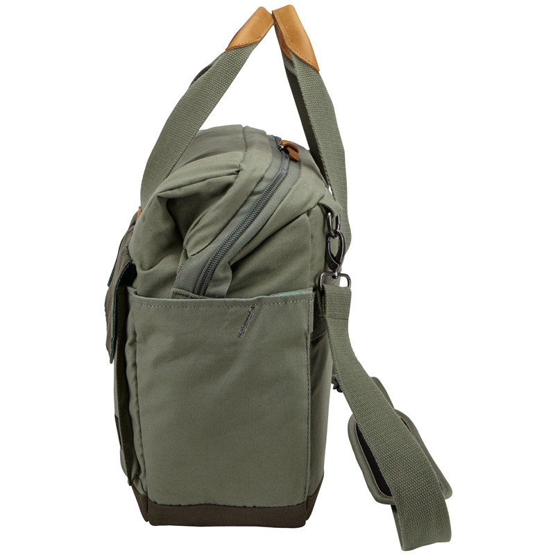 Case Logic LoDo Satchel 15 inch Petrol Green - 4