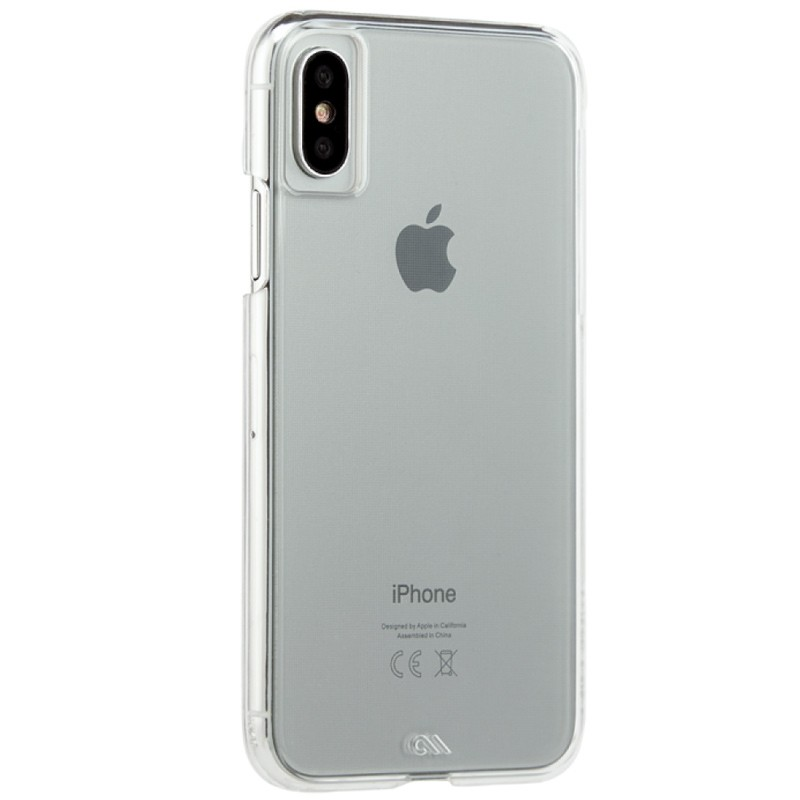 Case-Mate Barely There iPhone X/Xs Clear 01