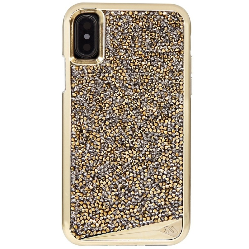 Case-Mate Premium Brilliance Case iPhone X/Xs Champagne 01
