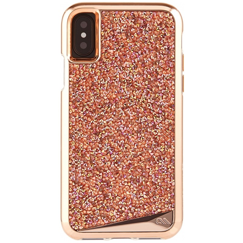 Case-Mate Premium Brilliance Case iPhone X/Xs Rose Gold 01