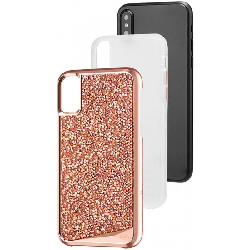 Case-Mate Premium Brilliance Case iPhone X/Xs Rose Gold 03