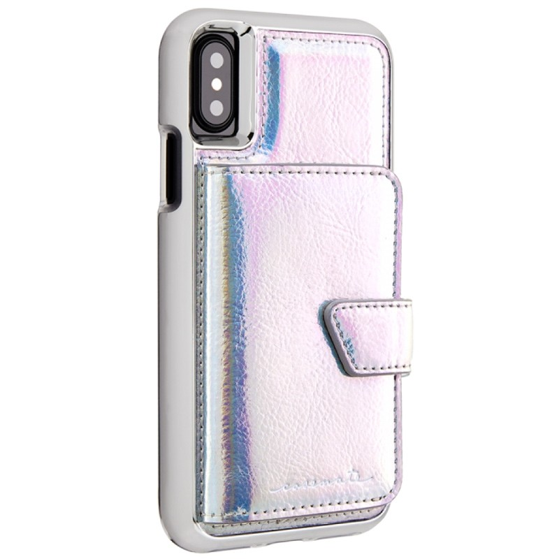 Case-Mate Compact Mirror Case iPhone X Iridescent 01