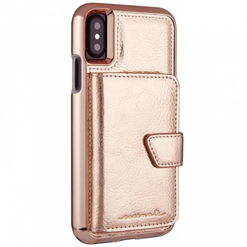 Case-Mate Compact Mirror Case iPhone X/Xs Rose Gold 01