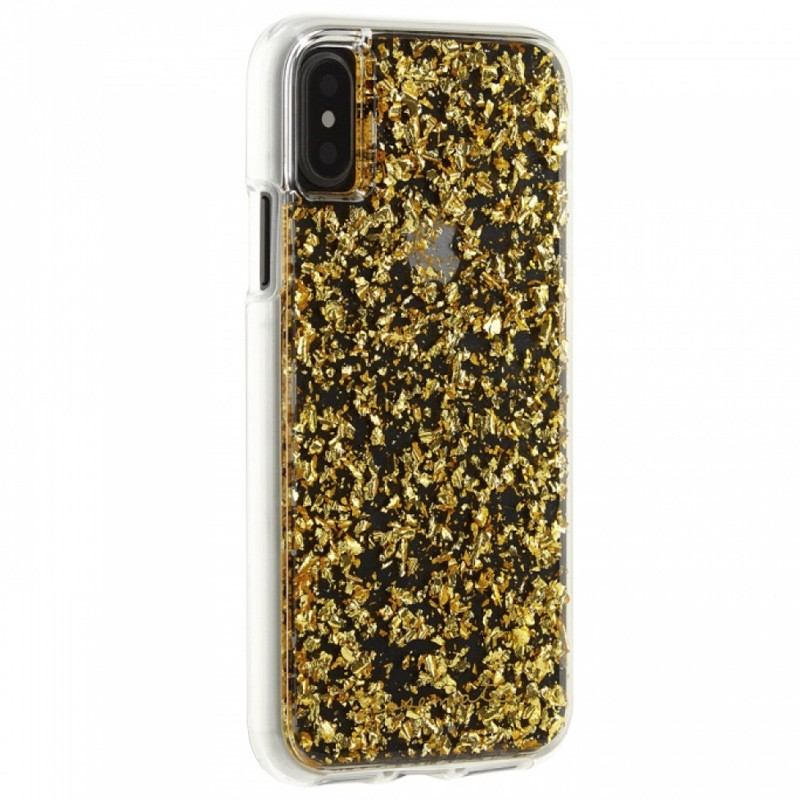 Case-Mate Karat Case iPhone X/Xs Gold 02