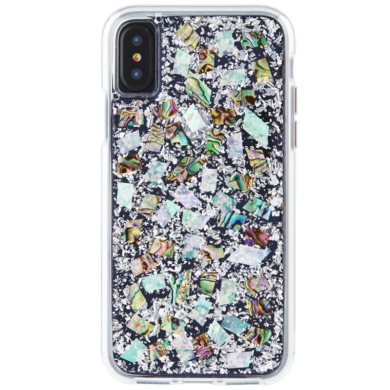 Case-Mate Karat Case iPhone X/Xs Pearl 01