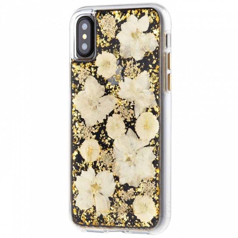 Case-Mate Karat Petals iPhone X Bloemen Wit 04