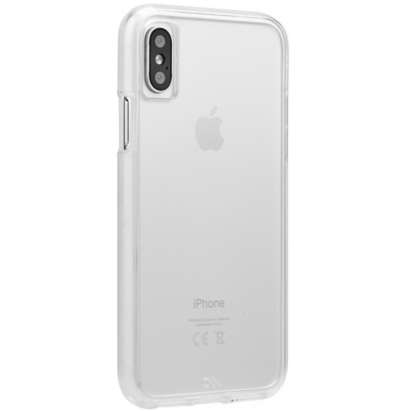 Case-Mate Naked Tough Transparant iPhone X Hoesje 01