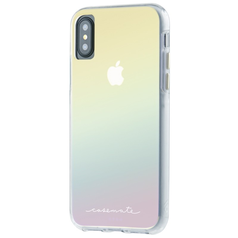 Case-Mate Naked Tough iPhone X/Xs Hoesje Iridescent 04