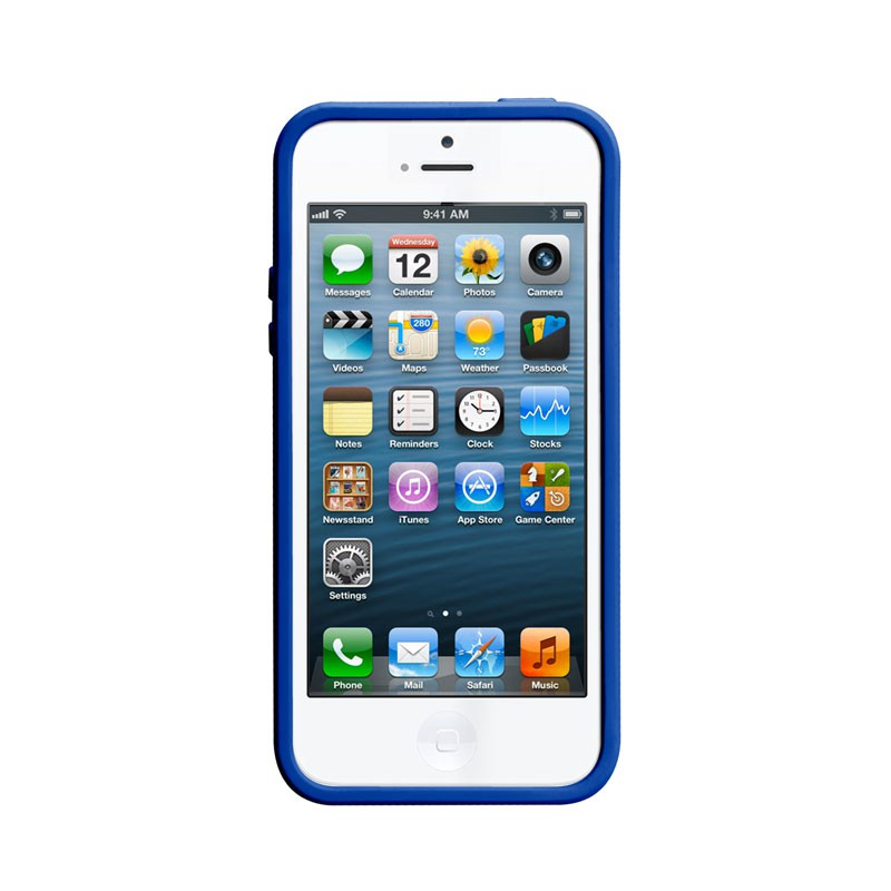 Case-mate - Pop! Case iPhone 5 (White-Blue) 04