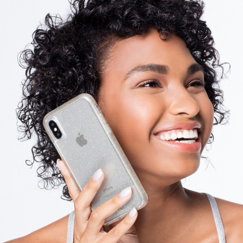 Case-Mate Naked Tough iPhone X/Xs Hoesje Sheer Glam 05