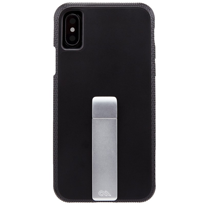 Case-Mate Tough Stand iPhone X Black 01