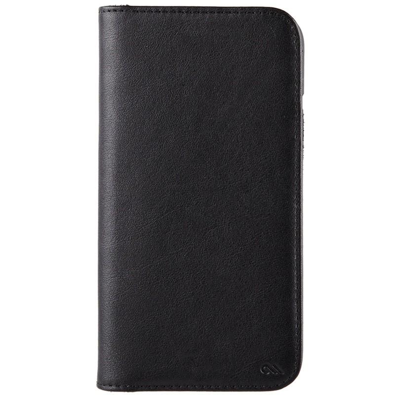 Case-Mate Premium Wallet Folio iPhone X Black 01