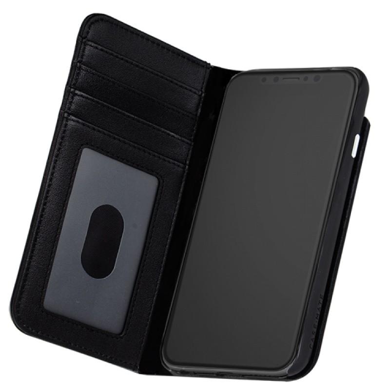 Case-Mate Premium Wallet Folio iPhone X Black 03