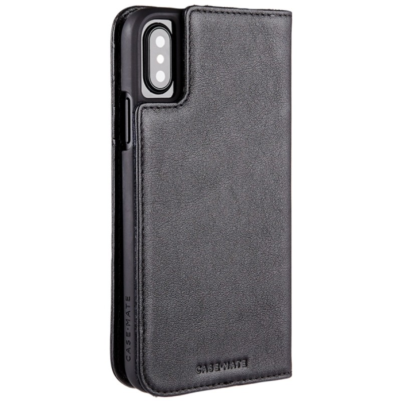 Case-Mate Premium Wallet Folio iPhone X Black 04