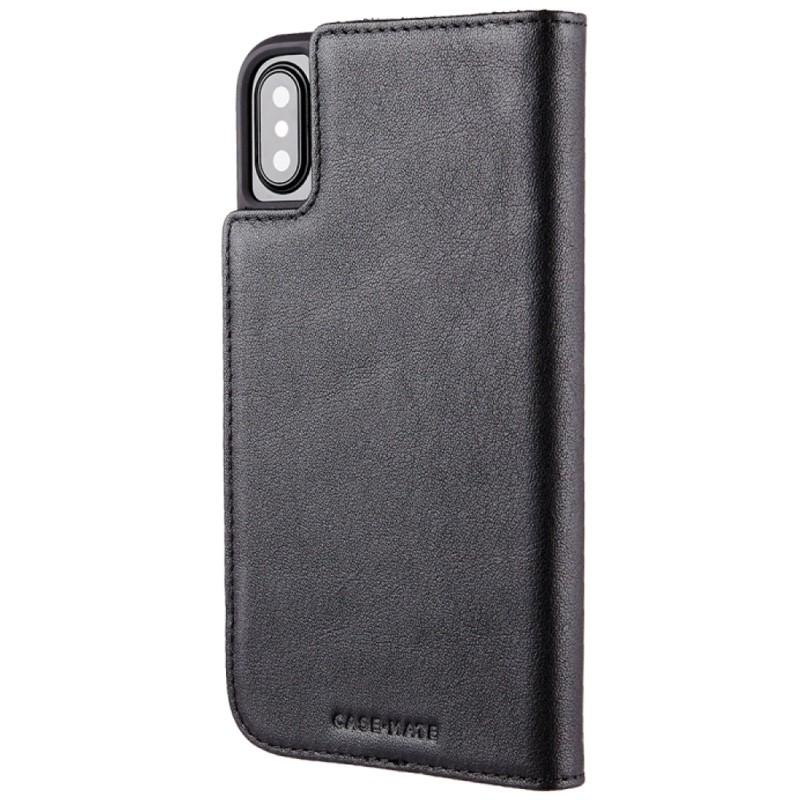 Case-Mate Premium Wallet Folio iPhone X Black 05