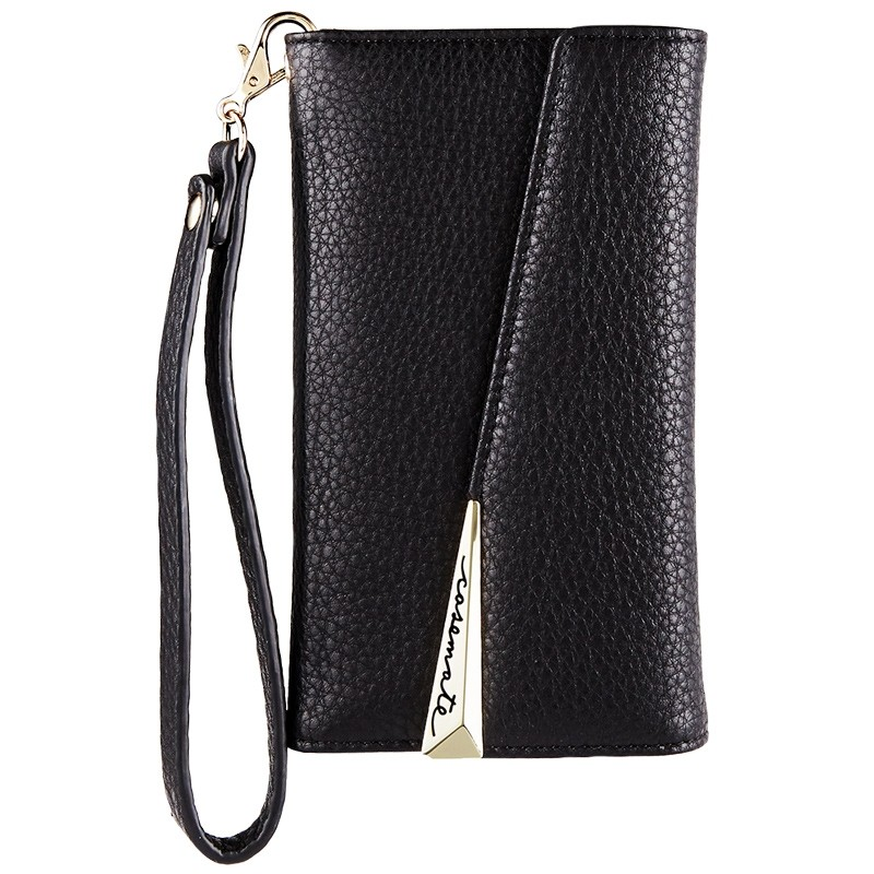 Case-Mate Wristlet Folio iPhone X Black 02