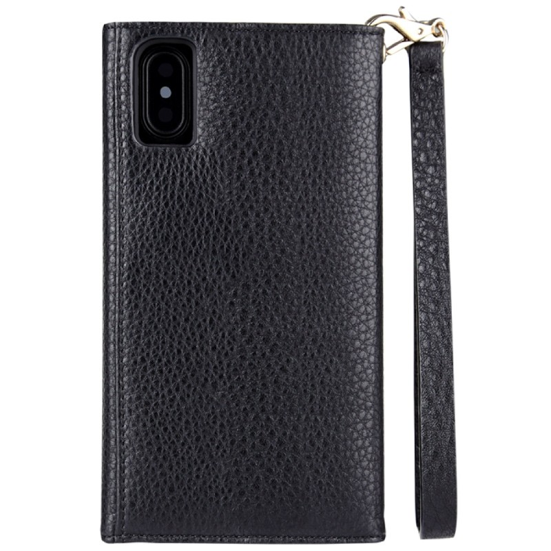 Case-Mate Wristlet Folio iPhone X Black 04