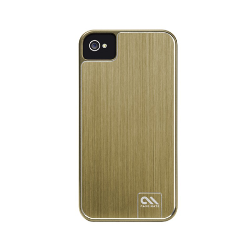 Case-Mate Barely There Brushed Aluminium iPhone 4(S) Gold - 1