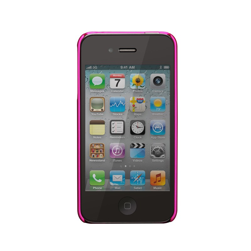 Case-Mate Barely There iPhone 4(S) Pink - 4