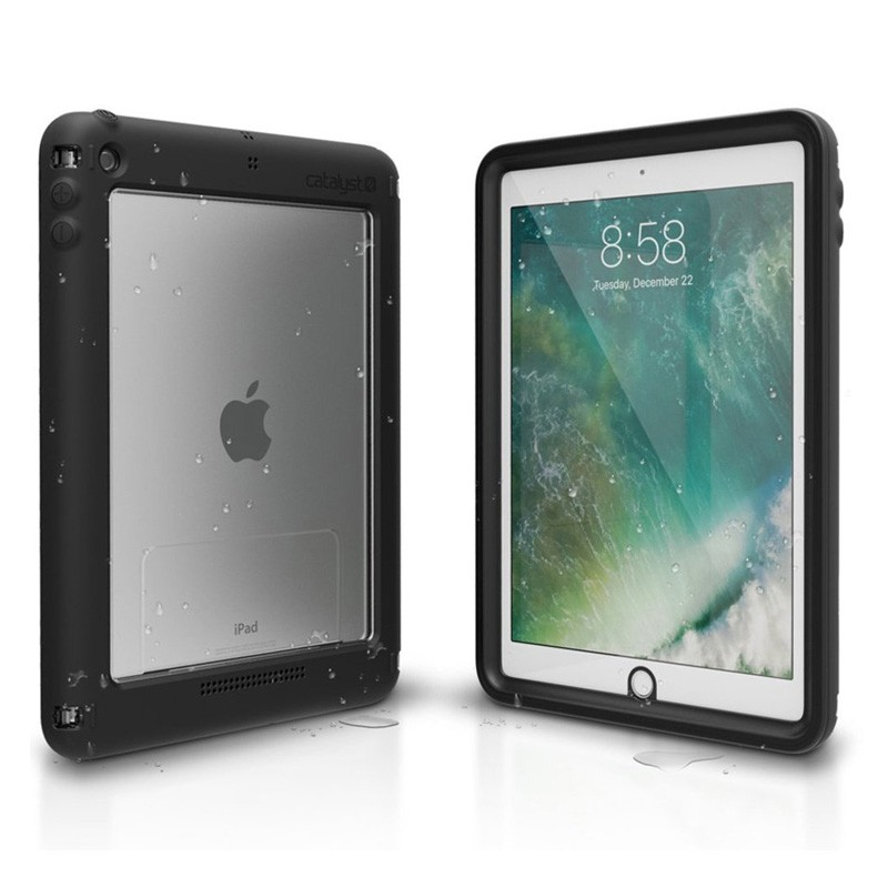 Catalyst Waterproof Case iPad 9,7-inch 2017 / 2018 Black/Clear - 8