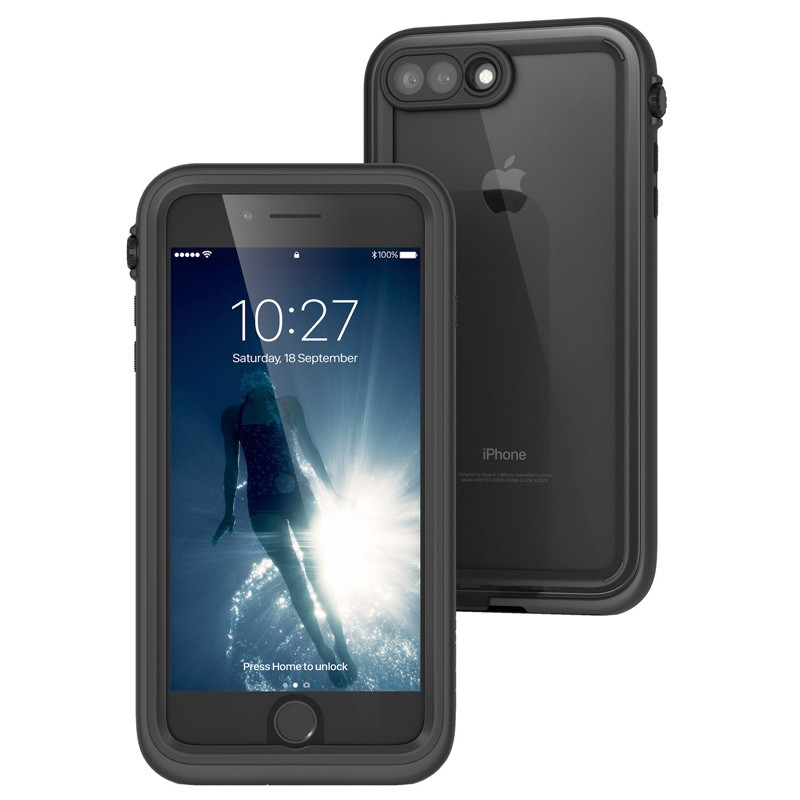 Catalyst - Waterdichte hoes voor iPhone 7 Plus Black 01