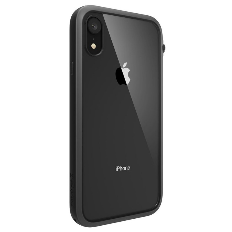 Catalyst Impact Protection Case iPhone XR Zwart Transparant 08