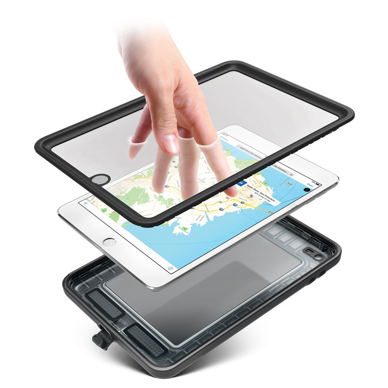 Catalyst Waterproof Case iPad mini 4 Black/Clear - 5