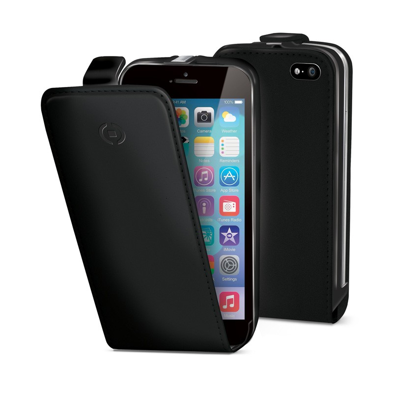 Celly Face Flipcase iPhone 6 Black