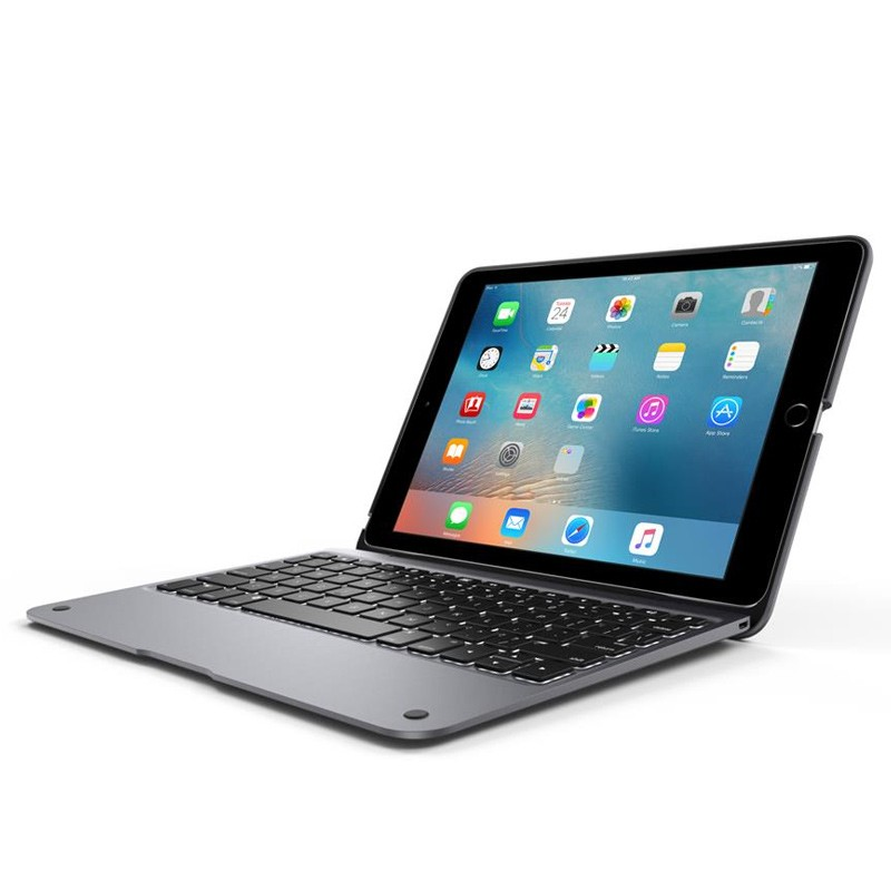 ClamCase - iPad Pro 9,7 inch Keyboard Case Space Gray 02
