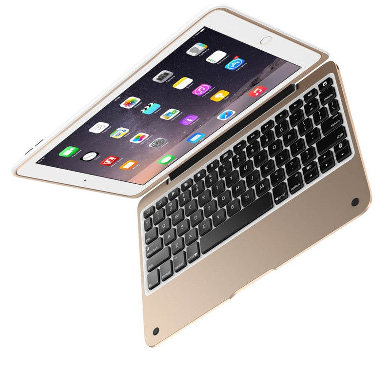 ClamCase Pro iPad Air 2 White/Gold - 6
