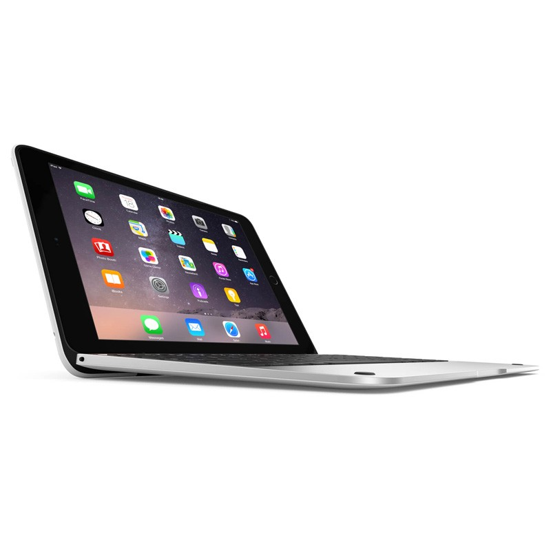ClamCase Pro iPad Air 2 White/Silver - 1