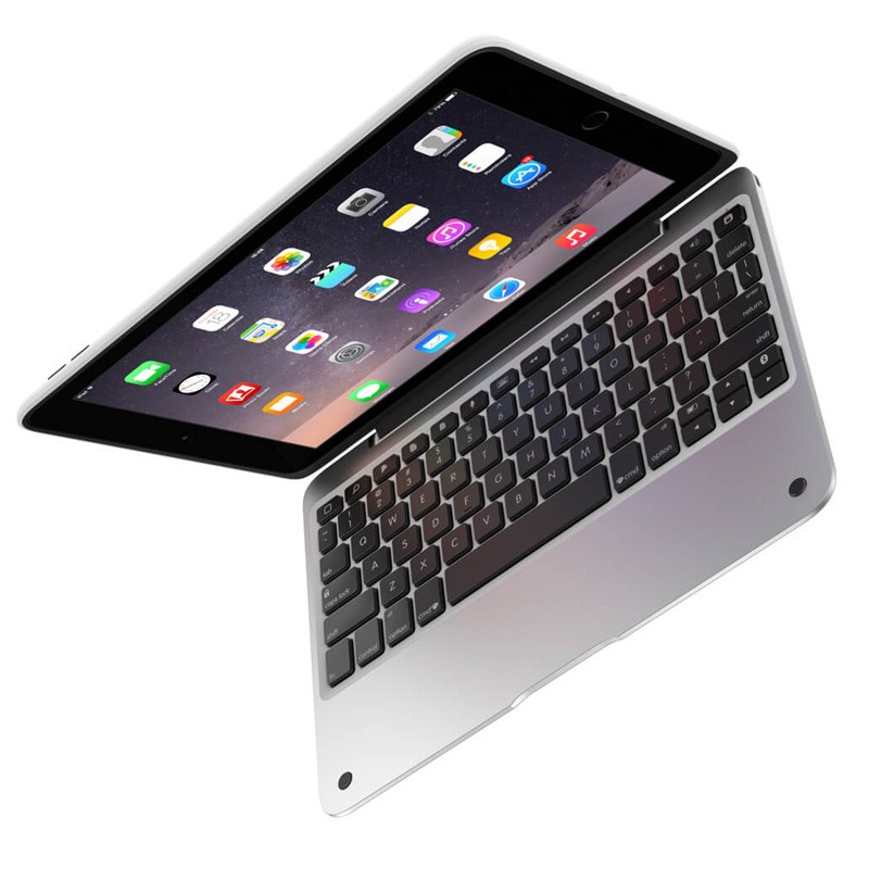 ClamCase Pro iPad Air 2 White/Silver - 6