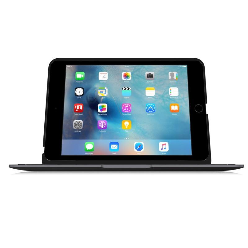 ClamCase Pro Keyboard Case iPad mini 4 Black/Smoke - 4
