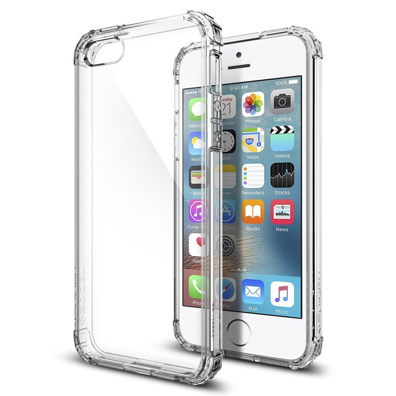 Spigen Crystal Shell iPhone SE / 5S / 5 Clear - 4