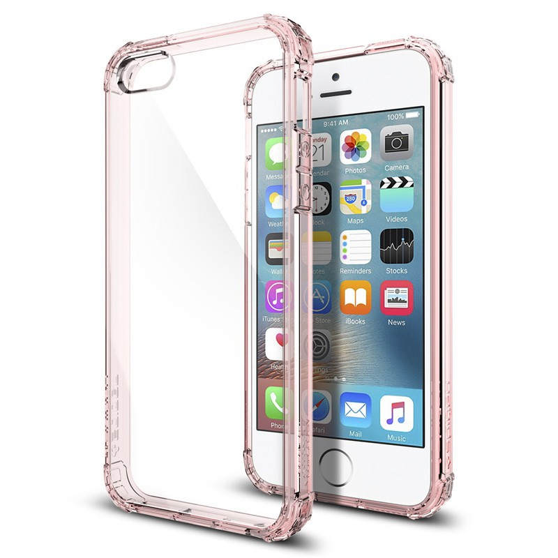 Spigen Crystal Shell iPhone SE / 5S / 5 Rose Crystal - 1