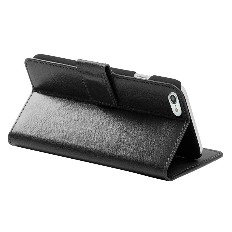 DBramante1928 - Copenhagen 2 Leather Folio iPhone 7 Black 05