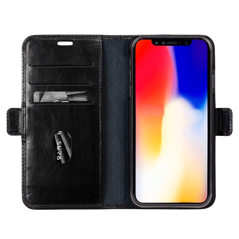 Dbramante1928 Copenhagen iPhone XR Wallet Zwart 03