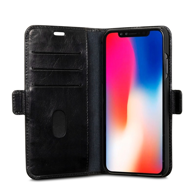 Dbramante1928 Copenhagen iPhone XR Wallet Zwart 08