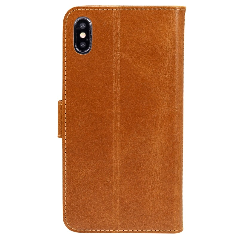 Dbramante1928 Copenhagen iPhone XR Wallet Bruin 06