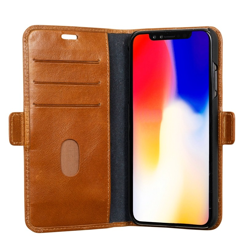 Dbramante1928 Copenhagen iPhone XR Wallet Bruin 08