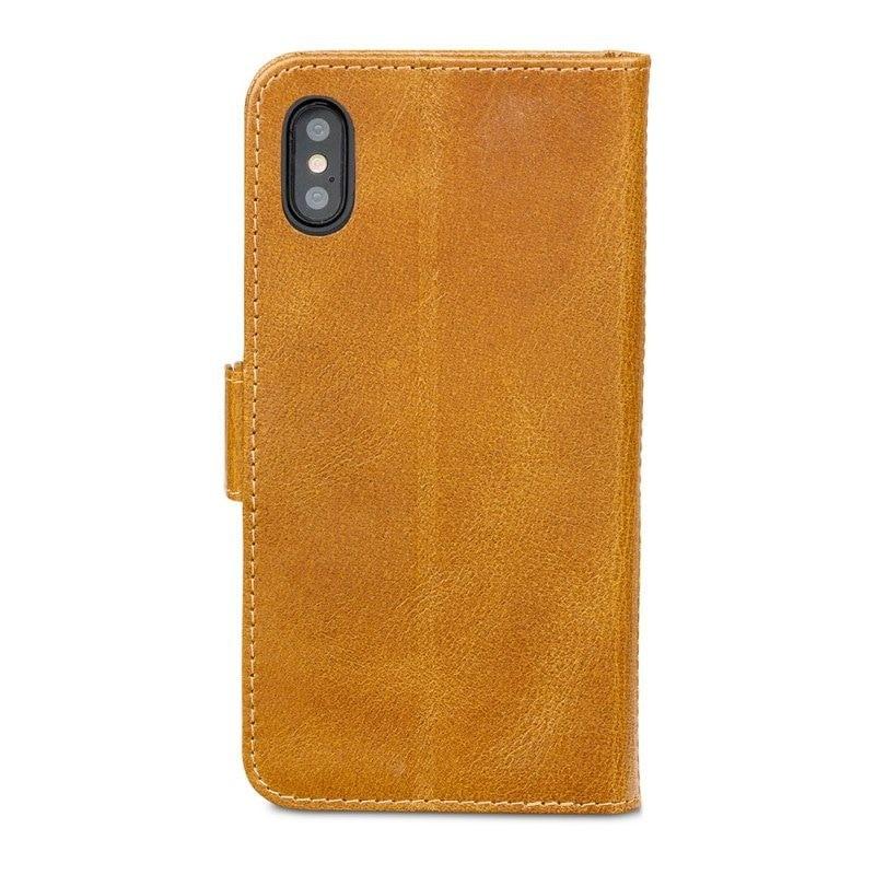 DBramante1928 Copenhagen 2 Wallet Hoes iPhone X Bruin 06