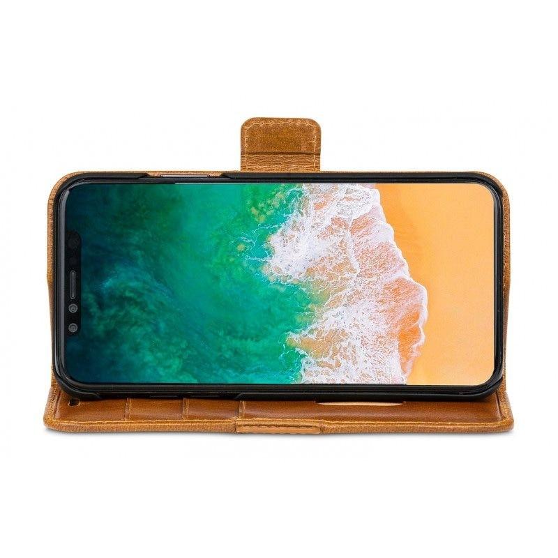DBramante1928 Copenhagen 2 Wallet Hoes iPhone X Bruin 08