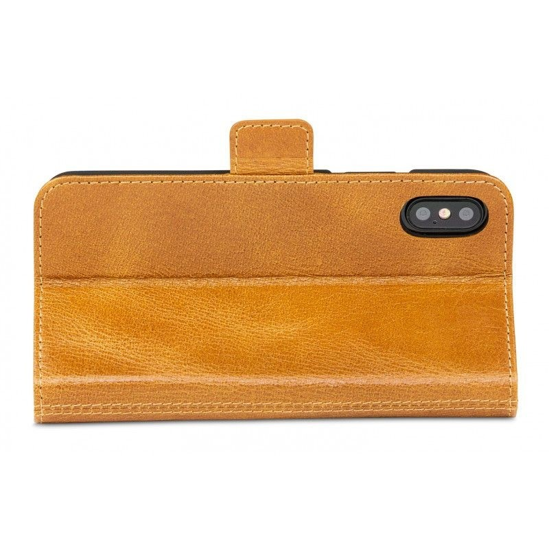 DBramante1928 Copenhagen 2 Wallet Hoes iPhone X Bruin 09