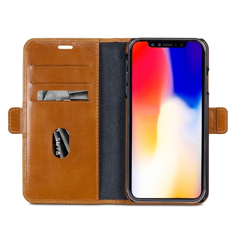 Dbramante1928 Lynge 2 iPhone XS Max Hoesje Bruin 07