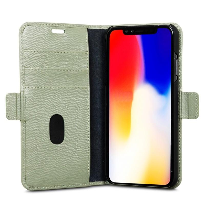 Dbramante1928 Milano iPhone XS Max Hoesje Olijfgroen 05